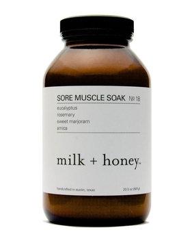 Milk + Honey Muscle Soak No. 18, 20.5 oz.