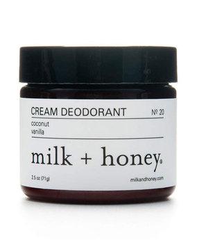 Milk + Honey Cream Deodorant No. 20, 2.5 oz.