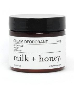 Milk + Honey Cream Deodorant No. 46, 2.5 oz.