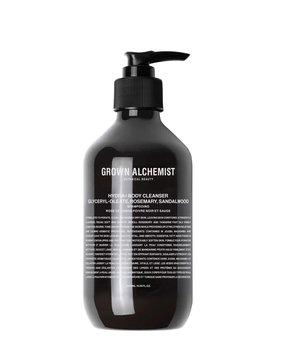 Grown Alkchemist Hydra+ Body Cleanser: Glyceryl-Oleate, Rosemary, Sandalwood - 16.9 oz./ 500 mL