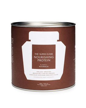 Welleco Nourishing Protein Chocolate Tin, 17.6 oz. / 500g