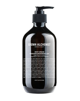 Grown Alchemist Body Cream: Mandarin & Rosemary Leaf, 500ml