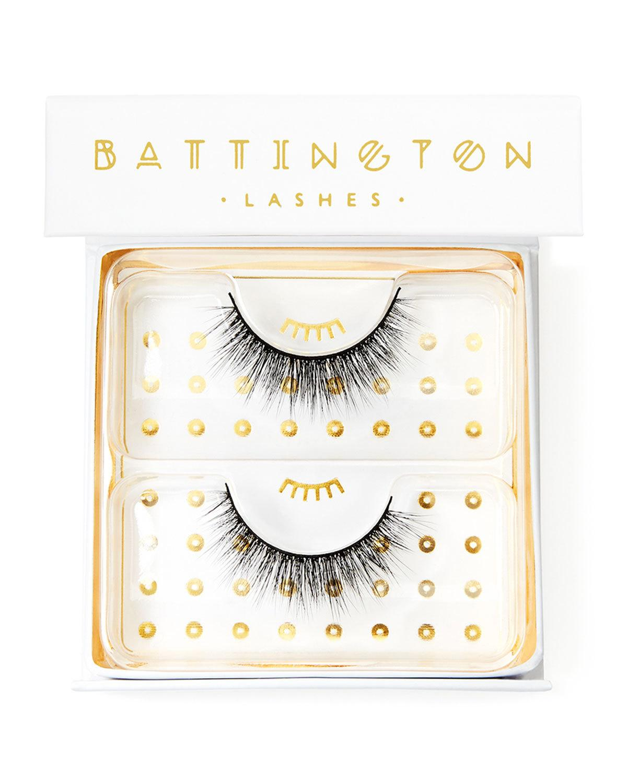 Battington Lashes Harlow 3-D Silk Lashes