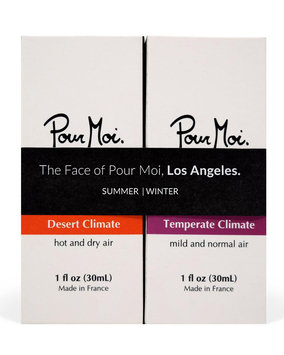 Pour Moi Beauty The Face of Pour Moi, Los Angeles, 2 x 1.0 oz./ 30 mL