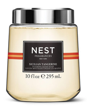 Simple Human NEST Fragrances Sicilian Tangerine Foaming Hand Wash Cartridge for simplehuman Sensor Pump, 10 oz./ 296 mL