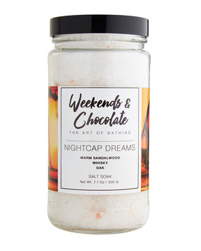 Weekends And Chocolate Bath Salts - Nightcap Dreams, 7 oz./ 200 g