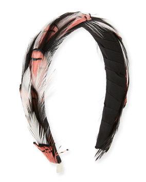 Gigi Burris Stella Feather Headband