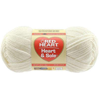 Red Heart Heart & Sole Yarn-Ivory