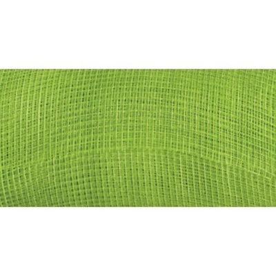 Mesh Metallic Ribbon 21X10yd-Light Green