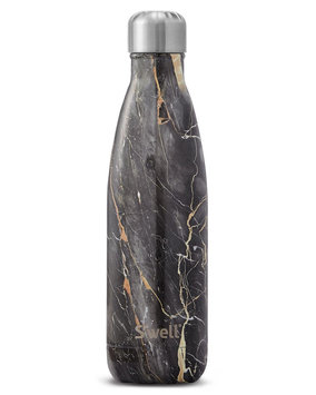 Swell S'well The Bahamas Gold Marble Water Bottle 500ml