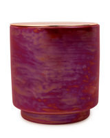 Paddywax Cranberry Rose Iridescent Ceramic Candle, 17 oz./482g