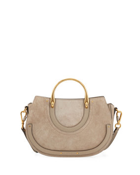 Chloe Pixie Medium Double-Handle Bag