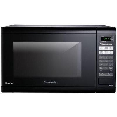 Panasonic - 1.2 Cu. Ft. Mid-size Microwave - Black