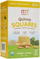 NurturMe Quinoa Squares, Cheddar, Broccoli, 5 pk, 1.76 oz