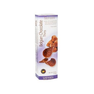 Belgian Thins 924723 Caramel & Sea Salt 12 Count
