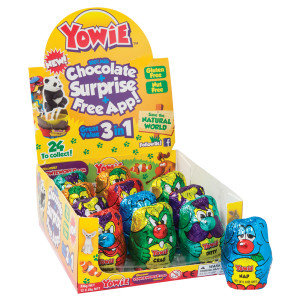 Yowie Milk Chocolate Collectible Candy