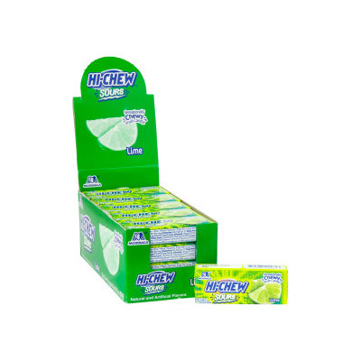 MORINAGA HI-CHEW Soft Candy Lime Flavor 33g