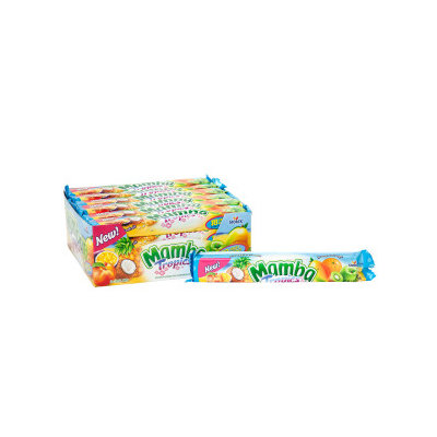 Mamba 37701 2.65 oz Mamba Tropics 24 Count - Pack of 6