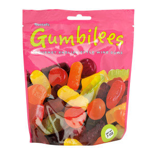 Gustafs 34289 Gumbilees Wine Gum Stand Up 12 Count