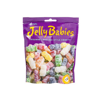Gustafs 34288 Jelly Babies Stand Up 12 Count