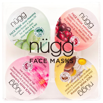 nugg Cleanse; Exfoliate; Soothe & Hydrate Face Mask Trial Kit