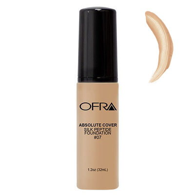 Ofra Absolute Cover Silk Peptide Foundation - #7
