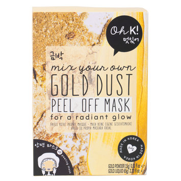 Oh K! Mix Your Own Gold Glow Peel Off Mask