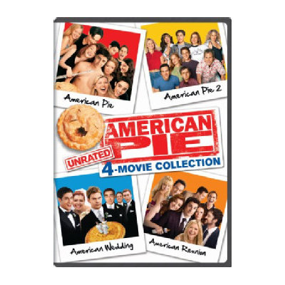 American Pie 4-movie Unrated Collection (dvd) (4 Disc)