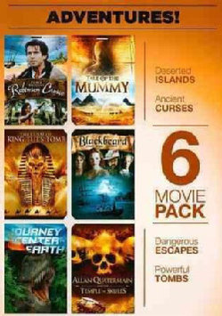 6-Movie Pack: Adventure! Robinson Crusoe (DVD)