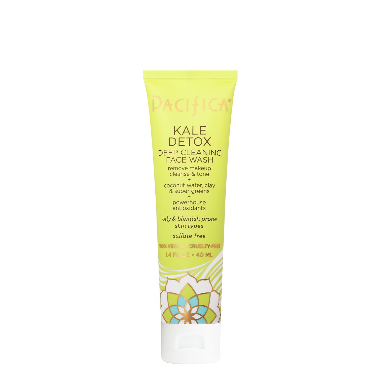 Pacifica Kale Detox Deep Cleaning Face Wash TRAVEL SIZE 1.4 ounce