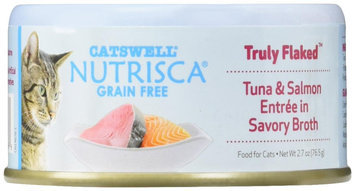 Dogswell Catswell Nutrisca Truly Flaked Tuna & Salmon Entr e in Savory Broth Canned Cat Food