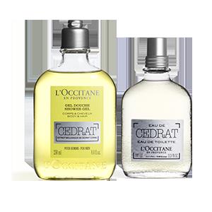 L Occitane Cedrat Shower Gel & EDT Duo L'Occitane