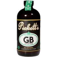 Pickett Brothers Beverage Ginger Beer Syrup