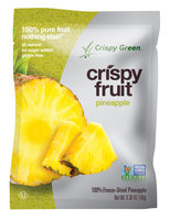 Crispy Green Crispy Fruit 100% Freeze Dried Pineapple