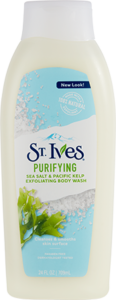 St. Ives® Purifying Sea Salt & Pacific Kelp Body Wash