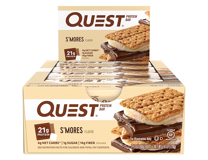 Quest S'mores Protein Bar