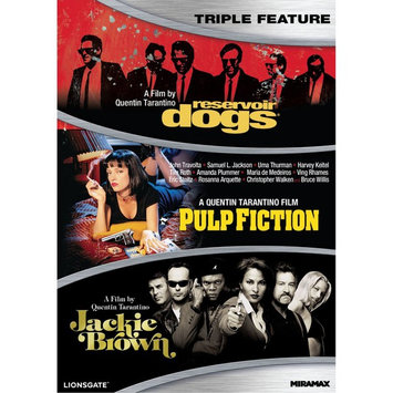 Reservoir Dogs/Pulp Fiction/Jackie Brown [3 Discs] (new)