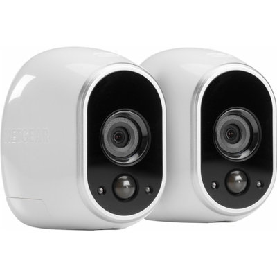 Arlo Security System with 2 HD Cameras (VMS3230) - Camera, Base Station - H.264 Formats - 720