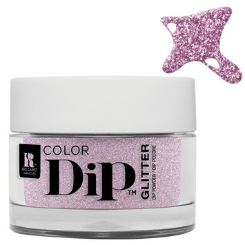 Red Carpet Manicure Color Dip Glitter Dazzling Dreamer
