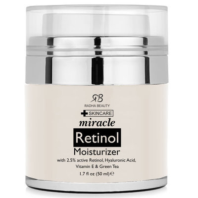 Radha Beauty 1-ounce Retinol Moisturizer