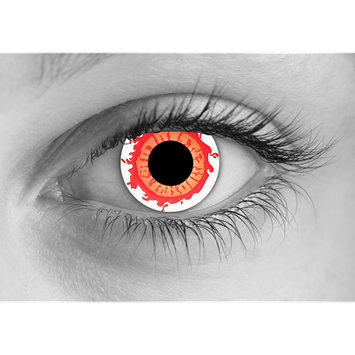 Special Effects Radiation Halloween Contact Lenses
