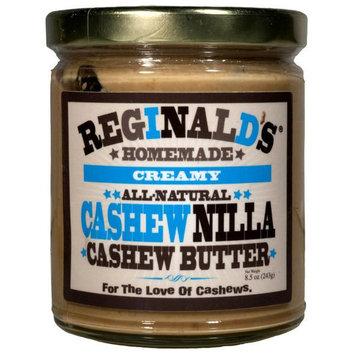 Reginald's Homemade Vanilla Cashew Nut Butter