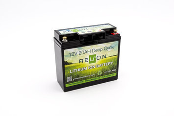 RELiON 12V 20AH LITHIUM-ION BATTERY