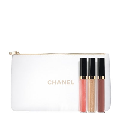 CHANEL Nude Mood, Rouge Coco Gloss Trio