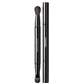CHANEL Retractable Dual-Tip Eyeshadow Brush,