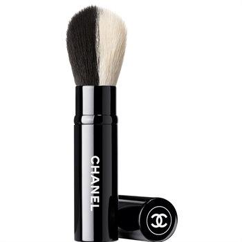 CHANEL Pinceau Double Face Retractable, Retractable Dual-Head Face Brush