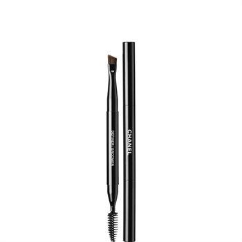 CHANEL Les Pinceaux De Chanel, Retractable Dual-Tip Brow Brush