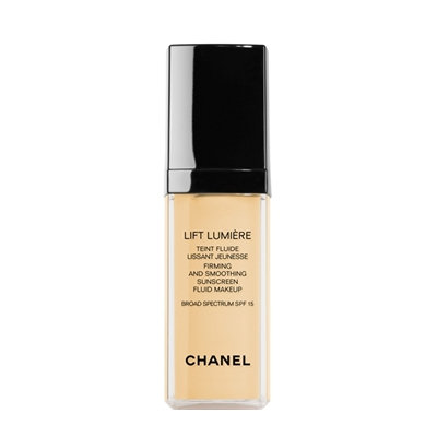 CHANEL Lift Lumière, Firming And Smoothing Sunscreen Fluid Makeup Broad Spectrum Spf 15