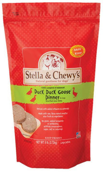 Stella & Chewy's Frozen Raw Dog Food Duck 6 lbs