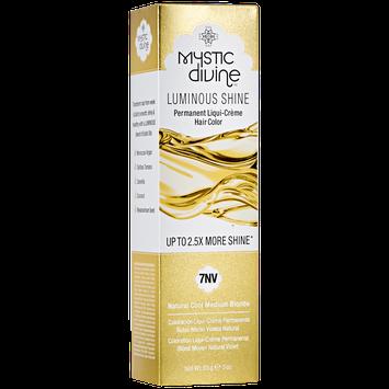 Mystic Divine 7NV Natural Cool Medium Blonde Liqui-Creme Permanent Hair Color